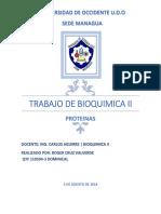 Trabajo de Bioquimica II