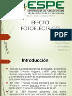 Efecto-Fotoeléctrico