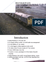 Indian Railways Presentation
