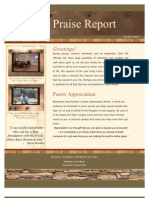 The Praise Report October 2010