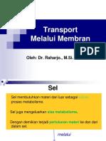 Transpor Melalui Membran- P. Jo.ppt