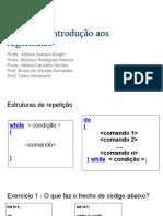 7-Exemplos-estruturas de Repetição