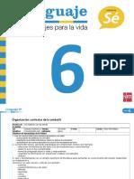 PlanificacionLenguaje6U6
