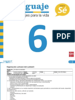 PlanificacionLenguaje6U2