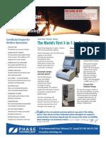 Phase Technology JFA 70Xi Jet Fuel Analyzer