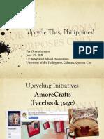 Art of Upcycling-greenducation