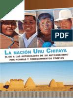 [Cartilla] OEP-Eleccion de Uru Chipaya (2017)