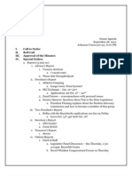 Senate Minutes September 28