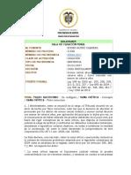 Sentencia SP666-2017