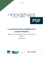 Informe Cuidados Puente de Vallecas