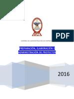 Preparación, Elaboración y Administración de Proyectos_ESAE