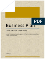 Business Plan Örneği