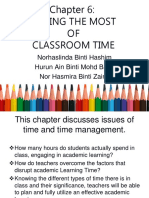 Making the Most of Classroom Time.ppt
