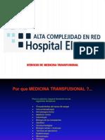 Serv.med.Transfusional