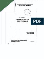 Cuaderno de Trabajo de Geotecnia II