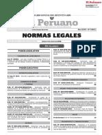 Normas Legales Del 04.08.2018