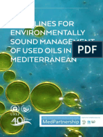 UNEP Guidelines for Environmentally Sound Management of Used Oils in the Mediterranean-2015guidelines for Environmentally Sound Management Oil Eng