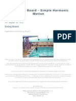 Diving Board - The Diving Board - Simple Harmonic Motion.pdf