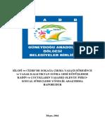Silopi ve Cizre'de Sokağa Çıkma Yasağı Süresince ve Yasak Kalktıktan Sonra Geri Dönüşlerde Kadın ve Çocukların Yaşamış Olduğu Psiko-Sosyal Süreçlere Yönelik Araştırma Raporu
