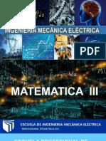 Universidad Cesar Vallejo- -Matematica III