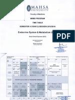 [EDM] Timetable 2016