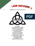 Marx Notes - Civ Rev 1 Sena