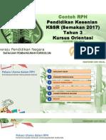Slaid KSSR Pendidikan Kesenian Tahun 3 (Semakan 2018)