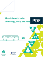 CSTEP Electric Buses in India Report 2016
