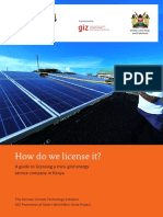 GIZ2015 ProSolar Licensing Guidebook