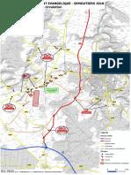 Circulation modifiée à Chaumont à partir du 6 août 2018