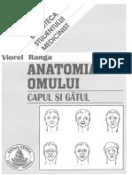 Anatomia Omului Cap Si Gat Viorel Ranga