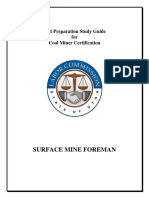 Surface Foreman Study Guide