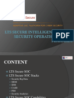 LTS secure Intelligence Driven Security Operation Center-India/usa
