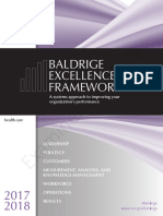 2017-2018 Baldrige Excellence Framework Health Care