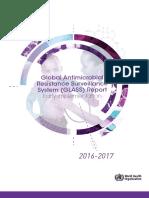 Raportul OMS 2016-2017 Rezistenta Microbiana