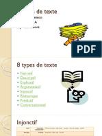 8 Types de Texte