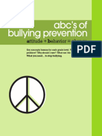 ABC Bullying Book With Cover