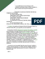ORDIN   Nr.18 -2003 privind aprobarea Ghidului metodologic pentru evaluarea copilului cu dizabilitati si incadreaea intr-un grad de handicap.doc