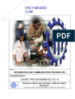 CBC-Game Programming NC III