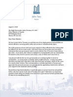 Mayor Letter to PM Trudeau Re Gun Violence - 2018 08 03