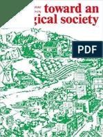 Bookchin - Toward an Ecological Society
