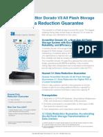 Huawei OceanStor Dorado V3 All Flash Storage 3 to 1 Data Reduction Guarantee.pdf