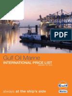 International Price List Marine b005 Ipl 2018 01
