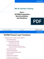 WCDMA Air Interface Training (Part 5)