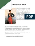 Biografia de Jose de La Mar Corregido