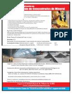 (Junio 18) Comercializacion de Concentrados de Mineral