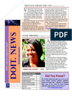 Doit Newsletter Fall 2010