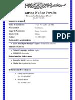Yocarina Nuňez Peralta