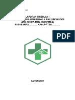 Contoh - Draft Laporan Tribulanan Manajemen Risiko