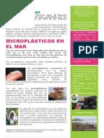Boletín- Microplásticos en El Mar